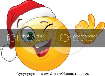 1082196-Clipart-Winking-Christmas-Emoticon-Smiley-Face-Wearing-A-Santa-Hat-Royalty-Free-Vector-Illustration.jpg