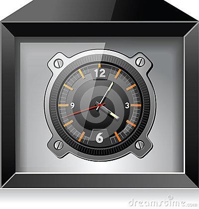 retro-analog-clock-black-box-detailed-ve