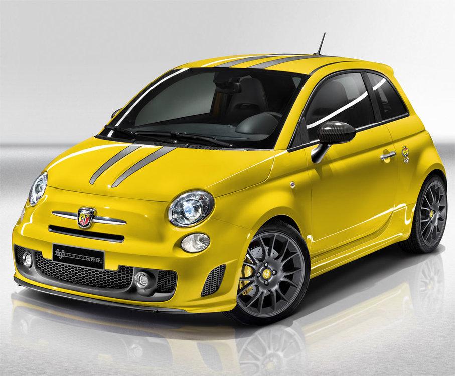 Yellow-Abarth-Fiat-500-Tributo-Ferrari-1