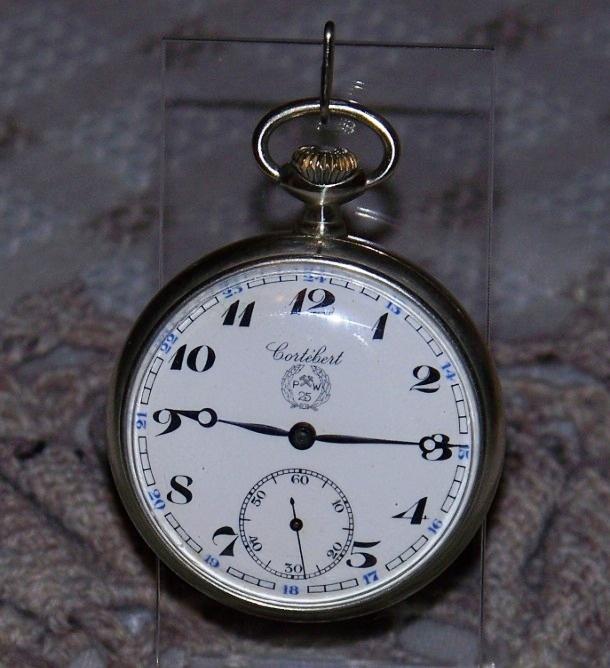 Zegarki Nakręcane Jubileuszowe Kieszonkowe - 25 PW