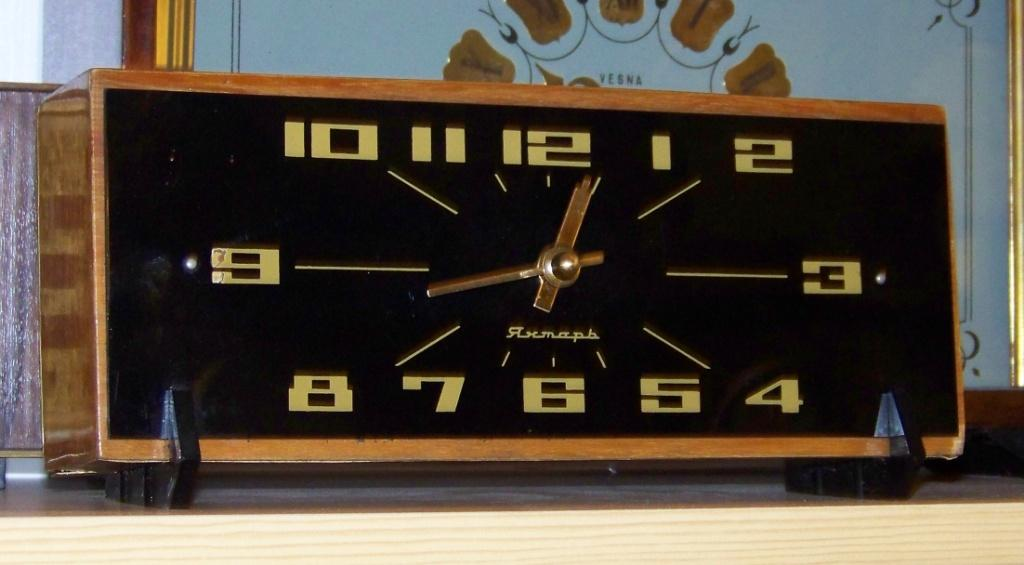 Jantar, ОЧЗ - Zegary z regulatorem wahadłowym i balansowym CCCP.