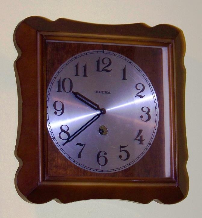 Wiesna, Vesna, Becha, Władimir - Zegary i zegarki z regulatorem balansowym