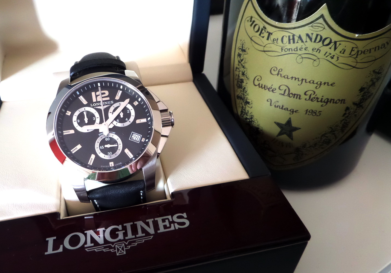 Longines Conquest Chronograph