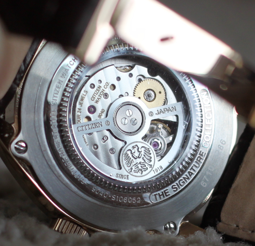 CITIZEN Grand Classic NB4003-01H
