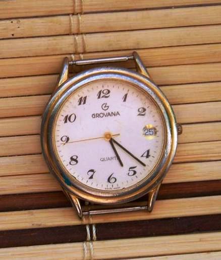 Grovana  25 LAT   Swiss Made  Kwarc