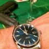 Nowa Aqua Terra blue dial w swoim naturalnym środowisku