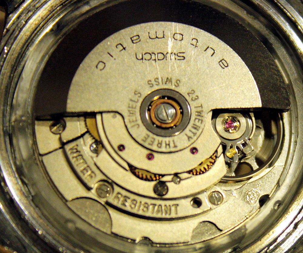 Swatch - automat