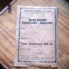 """Pieszycki chodzik wahadłowy  10 / 1958  """"MEDALION"""""""