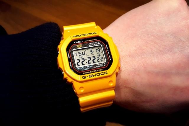 CASIO G-SHOCK DW-5030 Mod Yellow