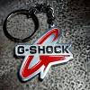 Reczynie wykonany breloczek G-SHOCK
