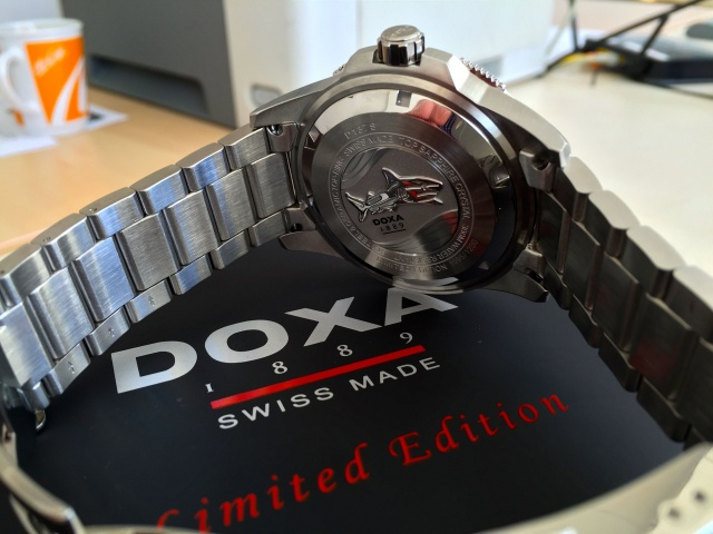 Doxa Into The Ocean Limited Edition