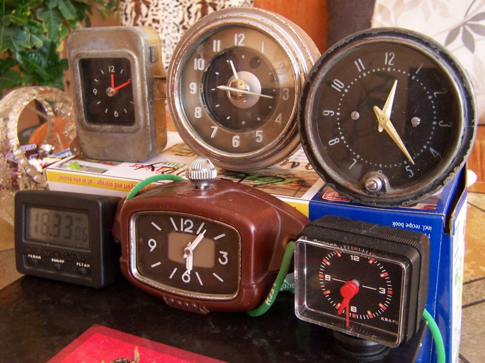 Radzieckie zegary samochodowe