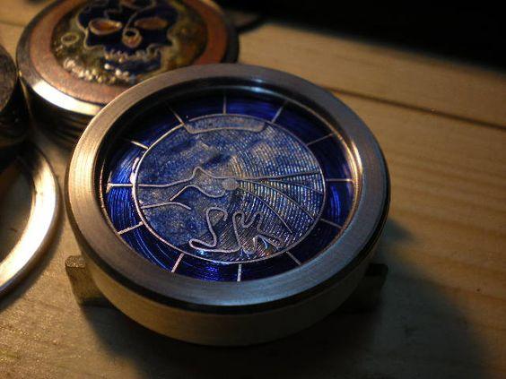 Tarcza do zegarka kieszonkowego. ( L/K )