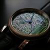 Carousels Horse  enamel cloisonne dial watch.