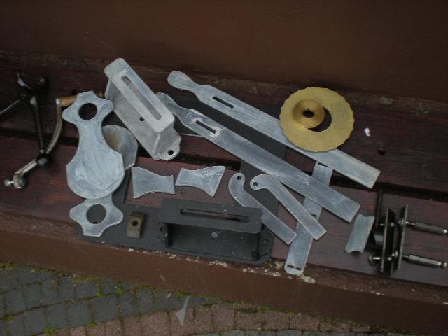 Budowa giloszarki obrotowej - rose engine. ( L/K )