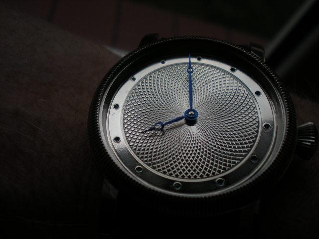 Hand guilloche watch dials. Diameter 36 mm. Wykonał Leszek ( L/K )