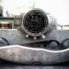 EDC - Suunto Elementum Terra - Spyderco Police - Tytanowa obrączka