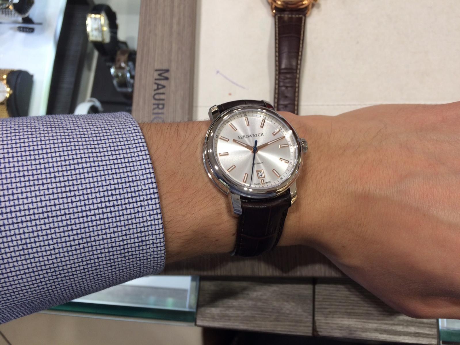 aerowatch zegarek klasyczny