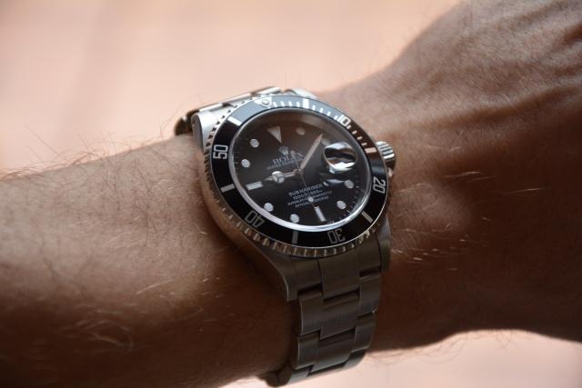 Rolex Submariner Date Cal. 3135  Ref. 16610