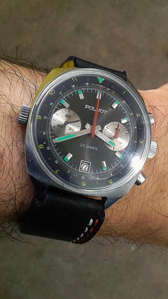 Poljot chrono 2
