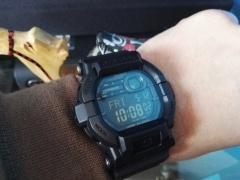 Dziś na ręku G Shock GD 350-1B