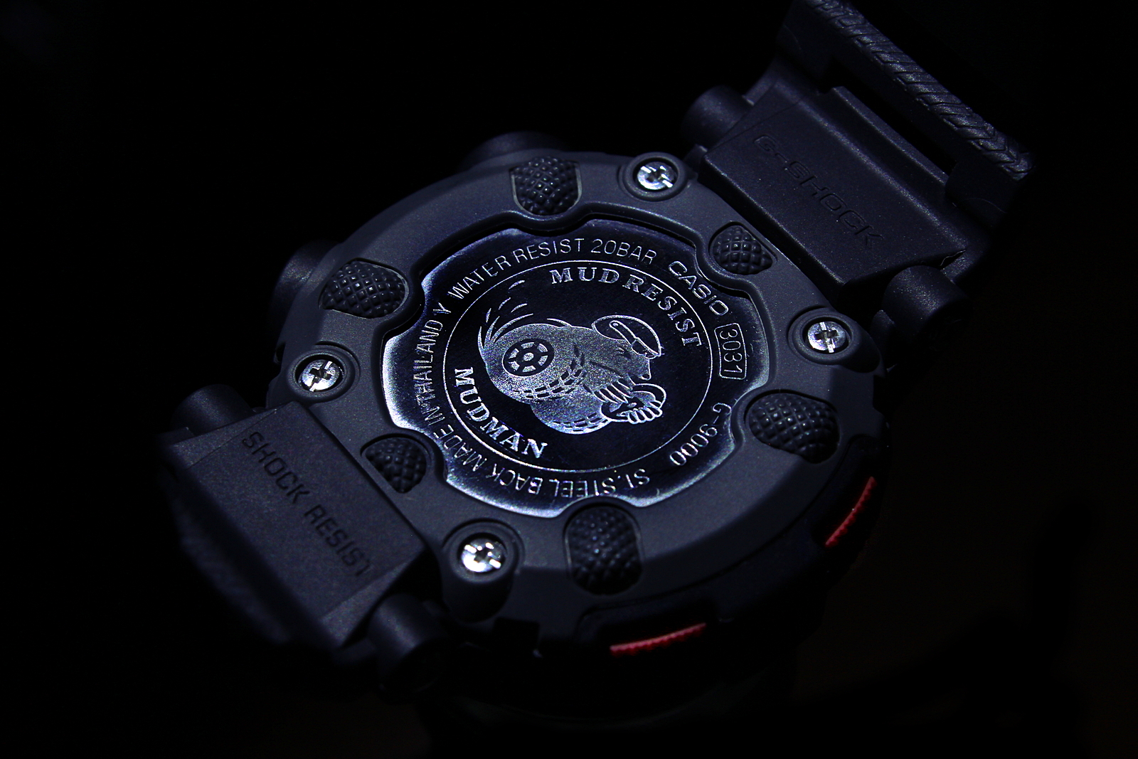 Casio G-Shock G-9000-1ER Mudman / Dark 2