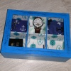 Pudełko na zegarki DIY