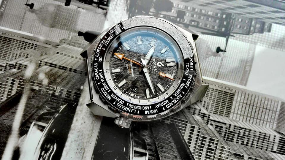 BOLDR Globetrotter GMT Meteoblack