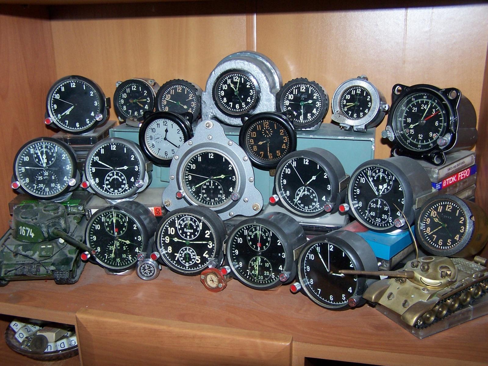 radzieckie zegary wojskowe , lotnicze , czołgowe , militarne