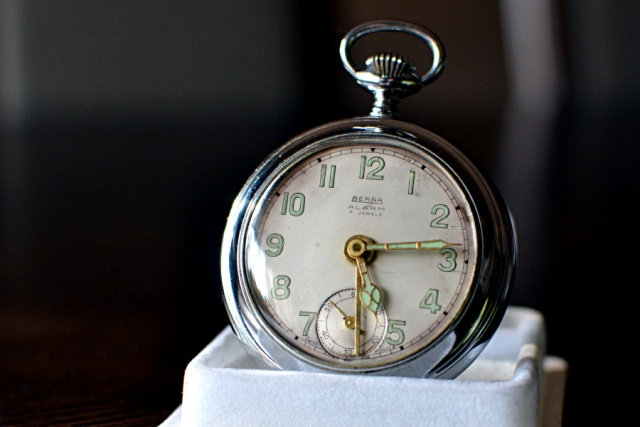 Berna Alarm 17 jewels cal. Brevet 227383