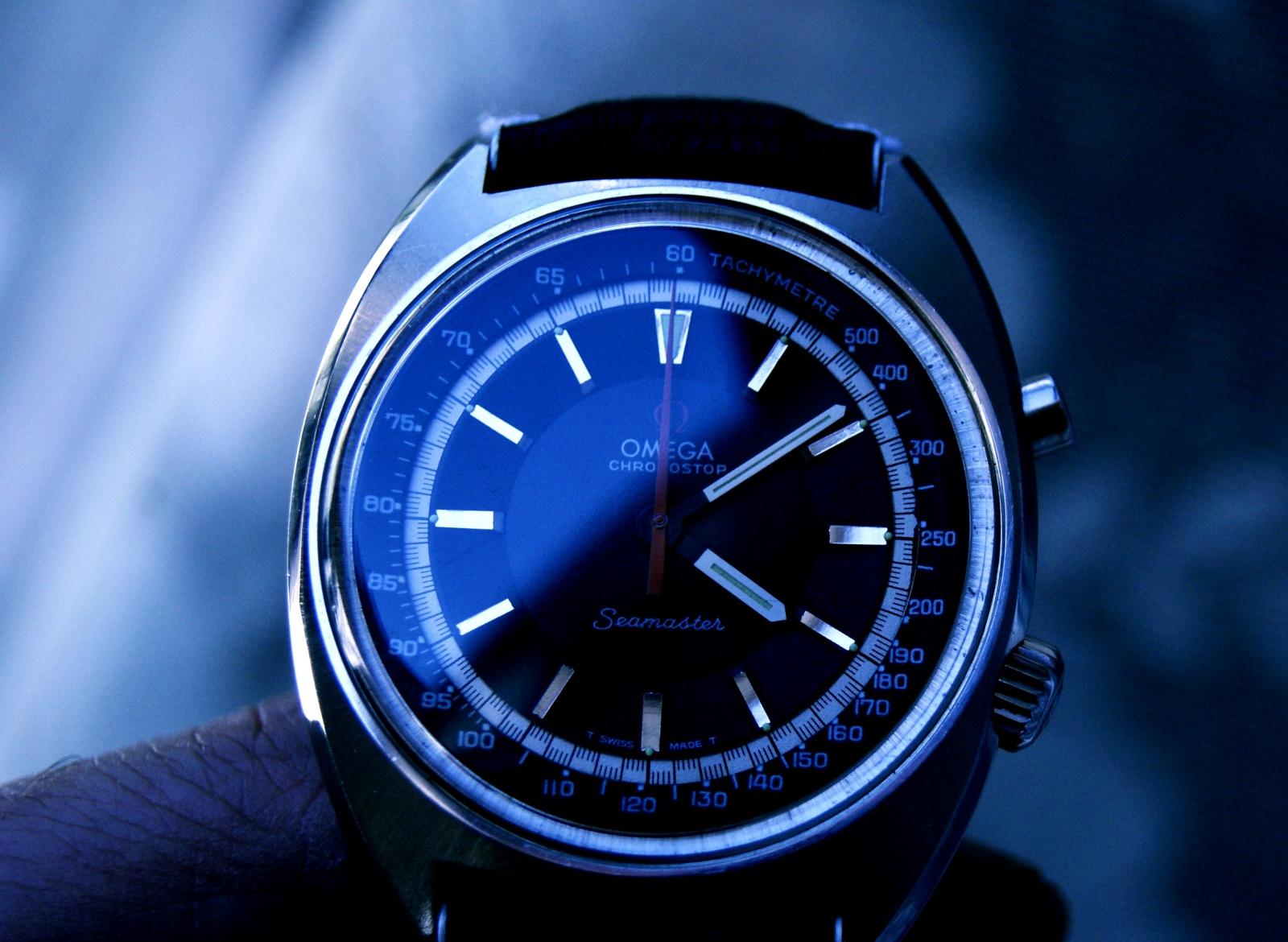 Omega seamsater chronostop