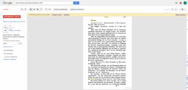 Bericht über die ... allgemeine Österreichische Gewerbe-Ausstellung - Österreichische Gewerbe-Ausstellung - Google Livres.png