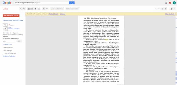 Bericht über die ... allgemeine Österreichische Gewerbe-Ausstellung - Österreichische Gewerbe-Ausstellung - Google Livres (1).png