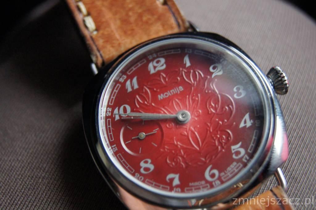 przeróbki na pasówkę zegarek
