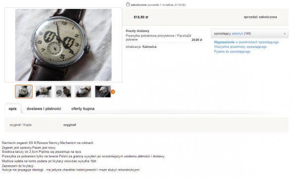 FireShot Screen Capture #259 - 'Niemiecki zegarek SS III Rzesza Niemcy (6445043291) - Allegro_pl - Więcej niż aukcje_' - allegro_pl_niemiecki-zegarek-.jpg