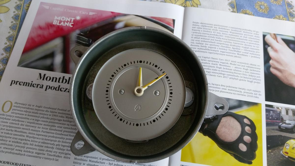 Zegar Samochodowy Jelcz Zegary Klub Miłośników Zegarów I