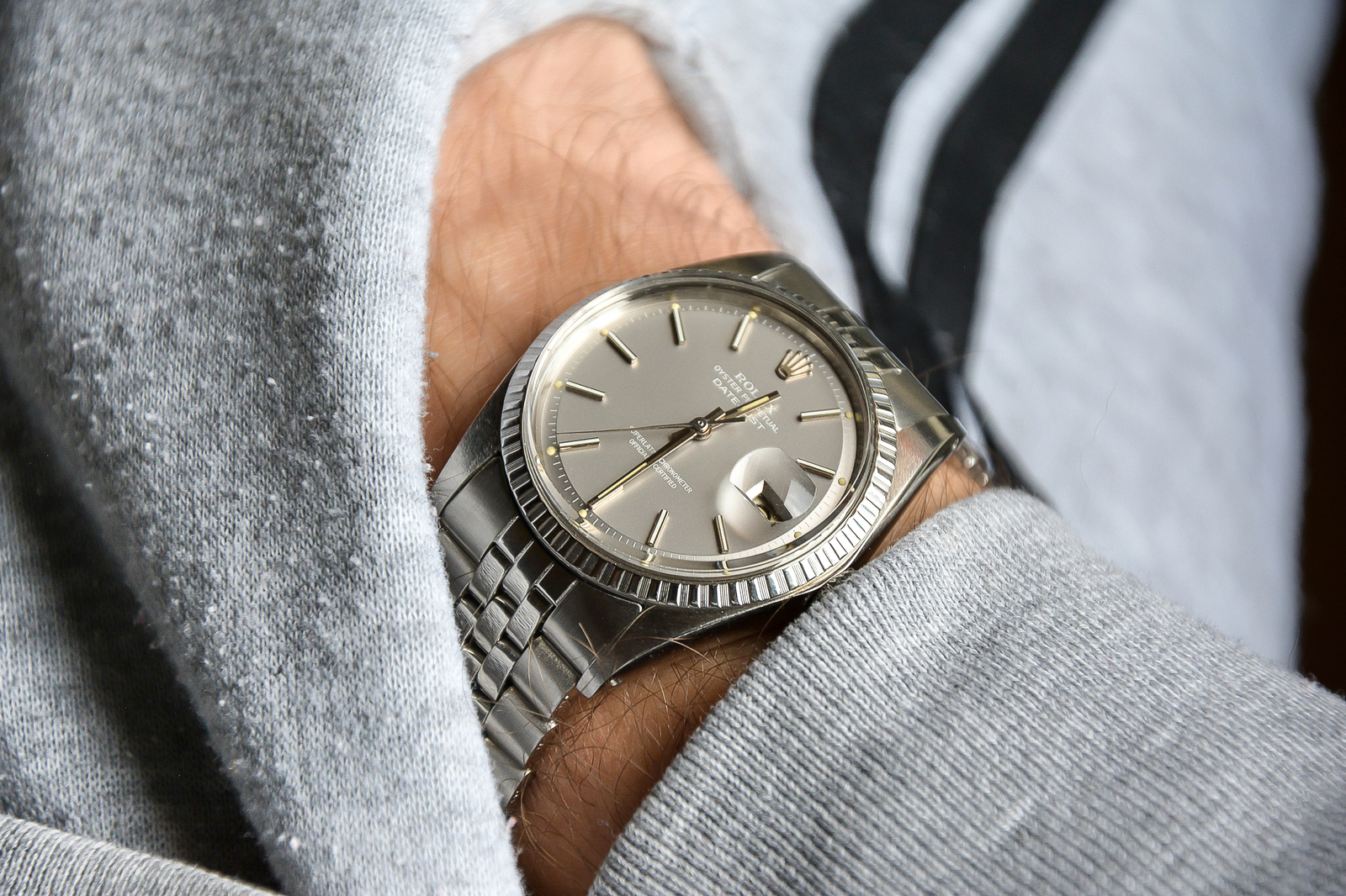 """Rolex Datejust '68 Cal. 1570 ref. 1603 """"Ghost Dial"""""""