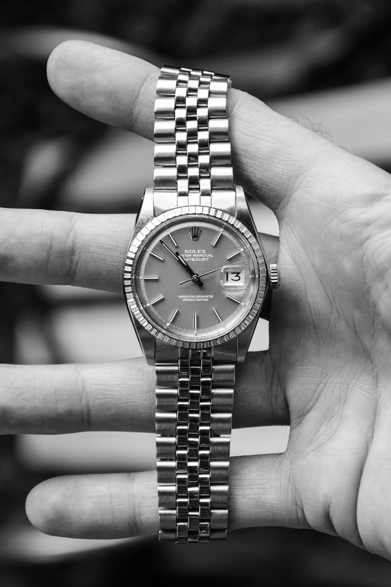 "Rolex Datejust '68 Cal. 1570 ref. 1603 ""Ghost Dial"