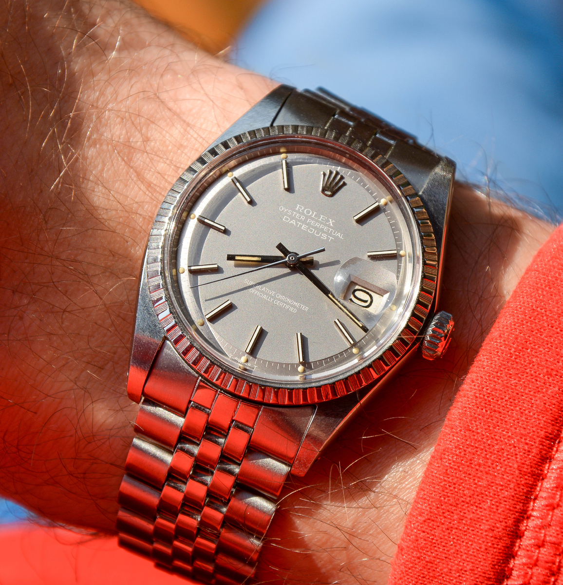"Rolex Datejust '68 Cal. 1570 ref. 1603 ""Ghost Dial"""