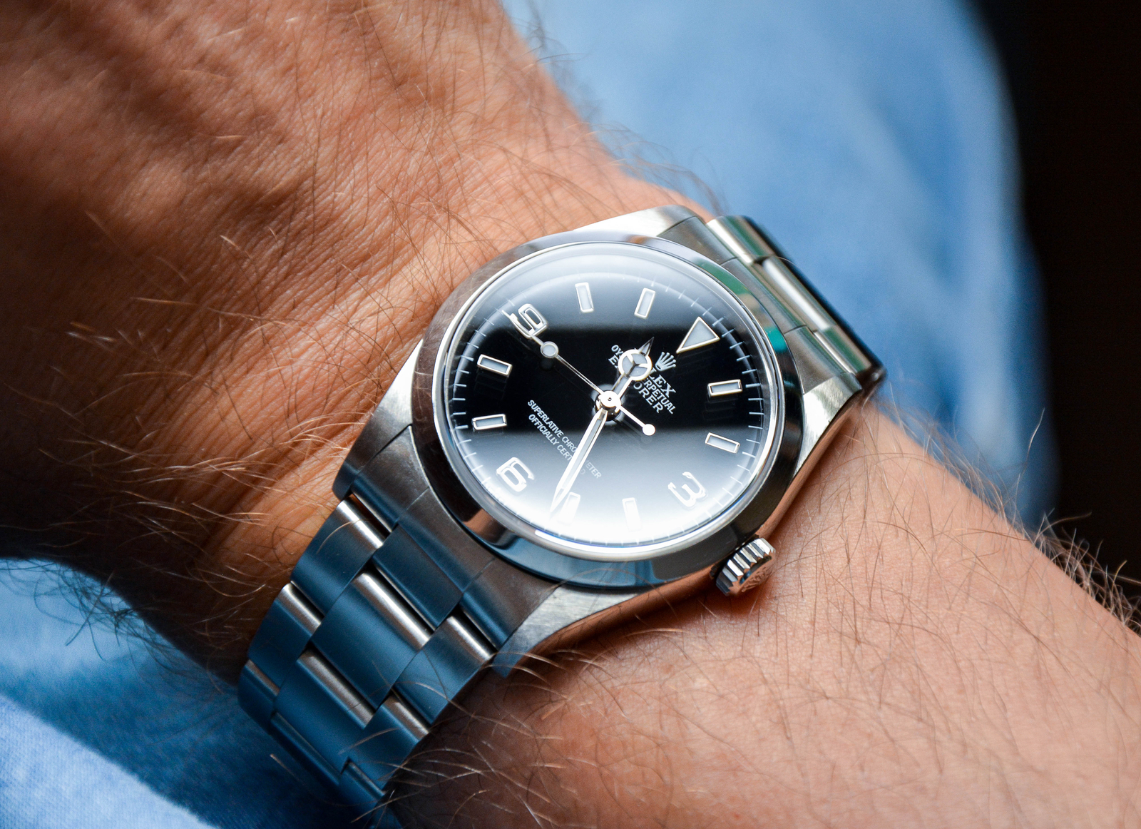 Rolex Explorer '99 Cal. 3000 ref. 14270 Swiss only
